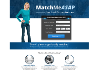 MatchMeASAP.com Screenshot